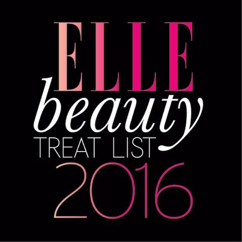 ELLE Beauty Treat List 2016