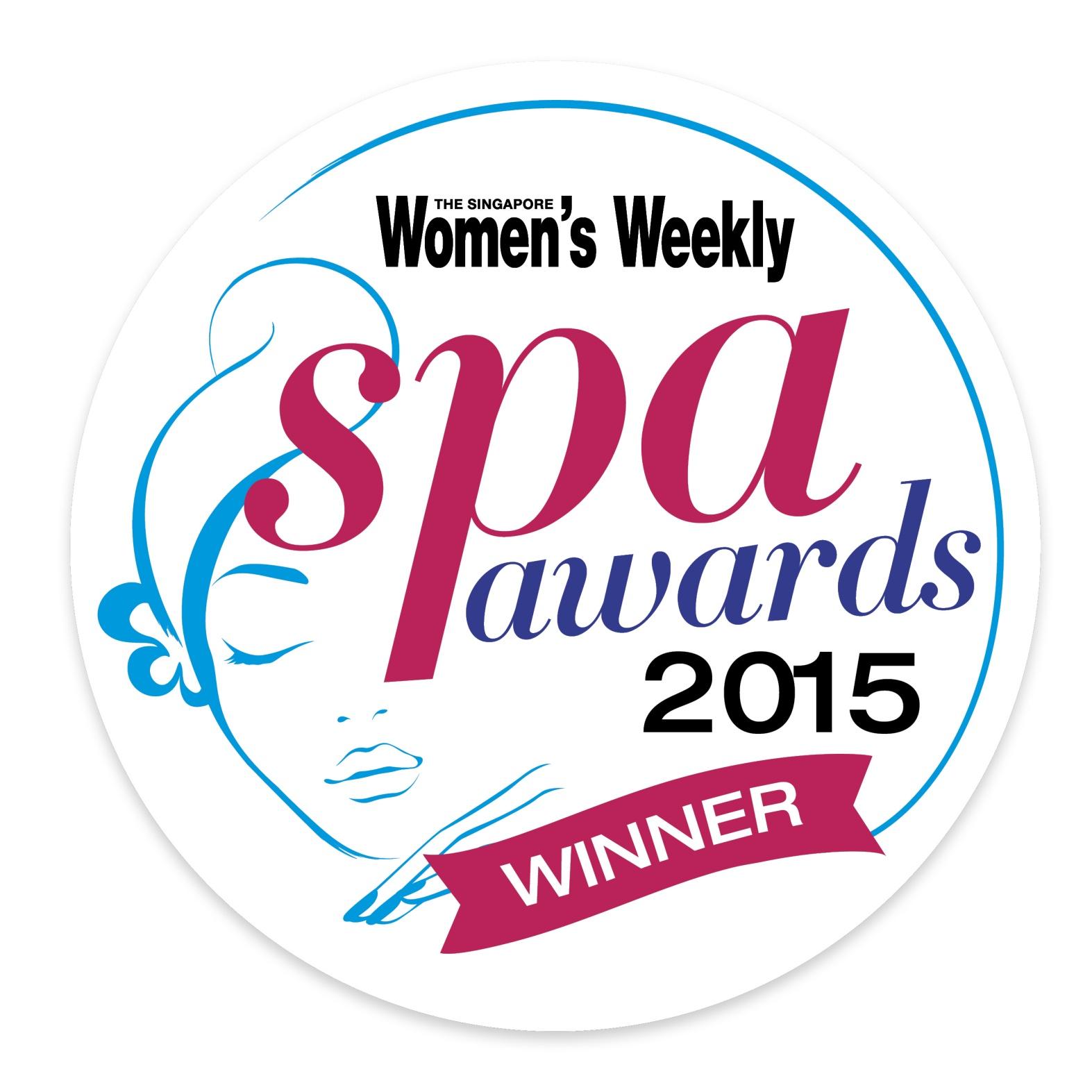 Singapore Women's Weekly SPA Awards 2015