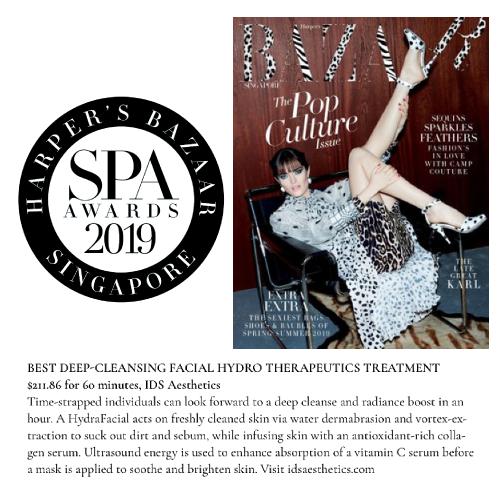 Harper's BAZAAR SPA Awards 2019