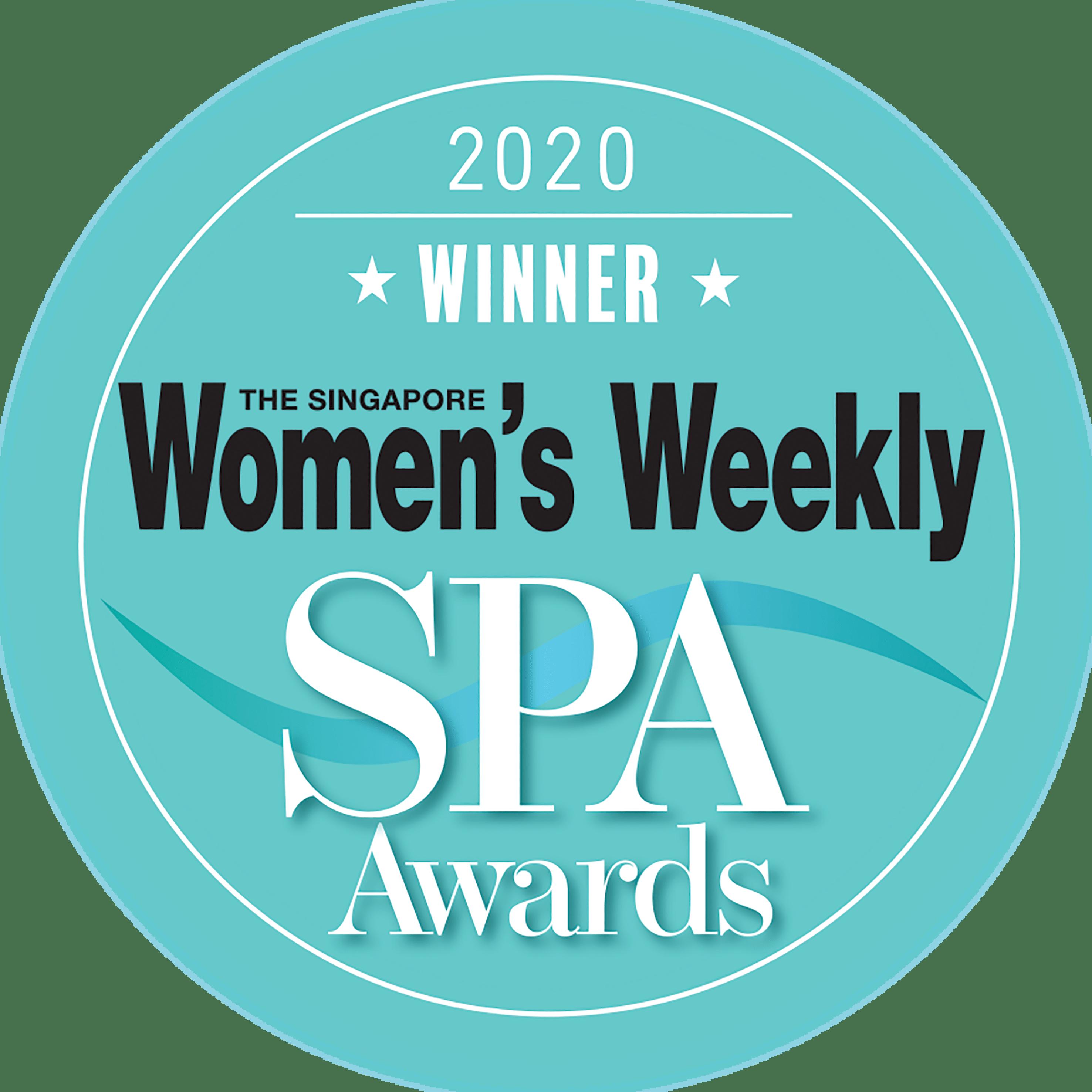 Singapore Women's Weekly SPA Awards 2020