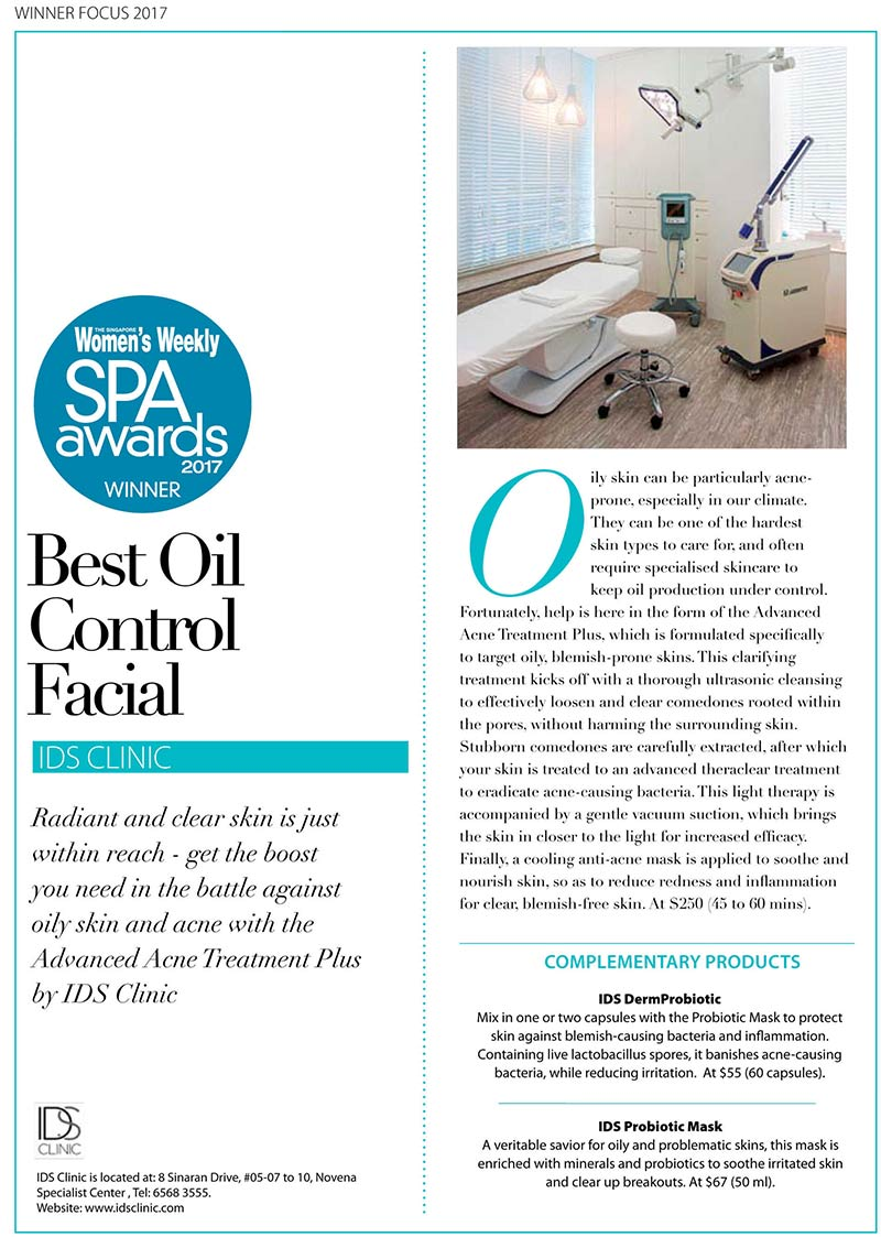 Best Oil Control Facial