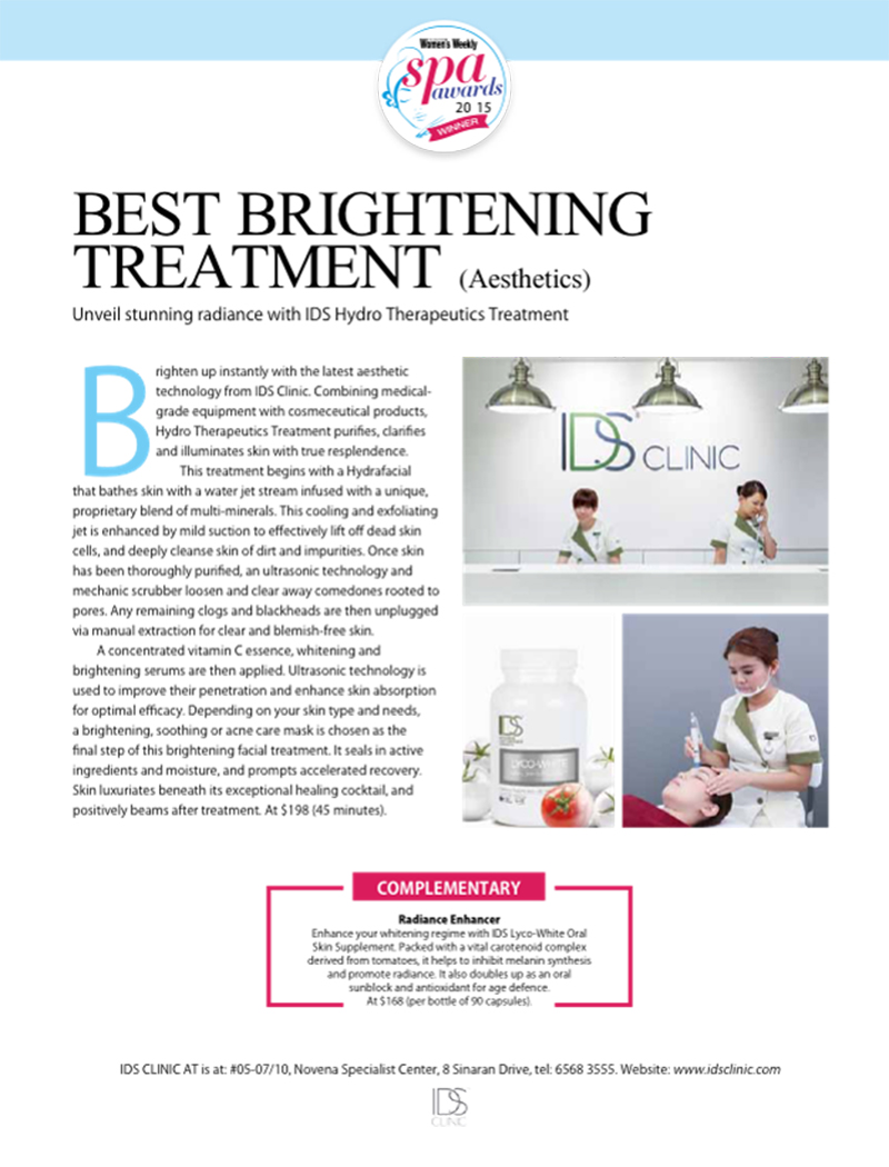Best Brightening Treatment